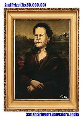 Sonia Gandhi portrait-fnbworld